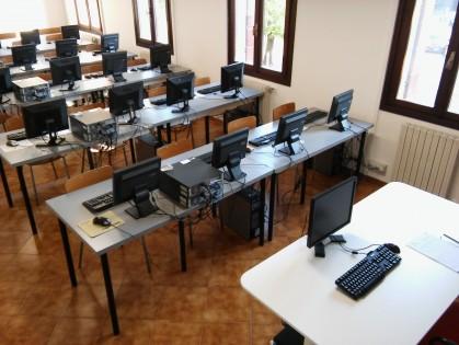 Aula informatica Bruni 2